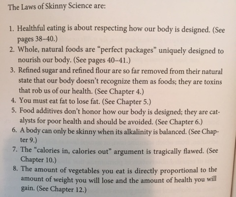 from The Science of Skinny, p.38